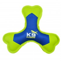 ZS K9 FITNESS BY ZEUS TOUGH NYLON TRI-BONE